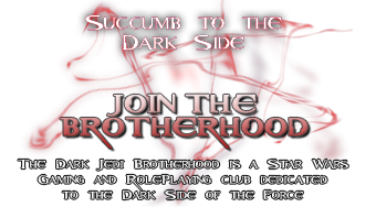 Join the Dark Jedi Brotherhood